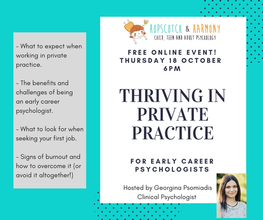 Thriving in Private Practice Webinar | Hopscotch & Harmony Psychology